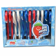 AirHeads Candy Canes 12 Count