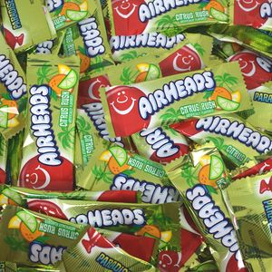 AirHeads Mini Taffy Citrus Rush Bulk 25lb