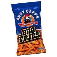 Andy Capp Fries BBQ 3oz Bag