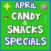 April Candy & Snacks Deals