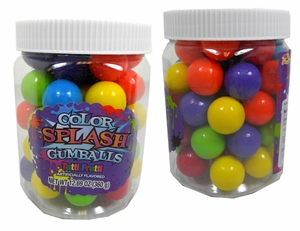 Assorted Color Gumballs Color Splash 49 Count