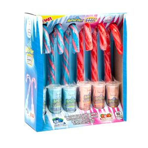 Baby Bottle Pop Candy Canes 6 Count