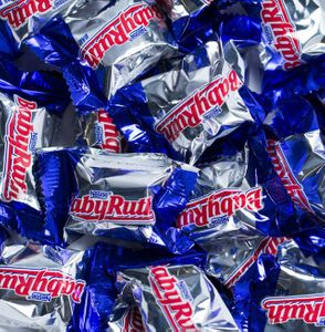 Baby Ruth Miniature Candy Bars 25lb