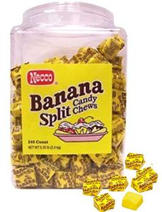 Banana Split Candy Chews 240ct