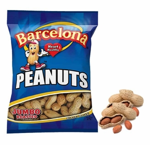 Barcelona Peanuts In Shell Salted 4.25oz Bag