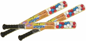 Baseball Bat  Filled With Baseball Bubble Gum - Dubble Bubble