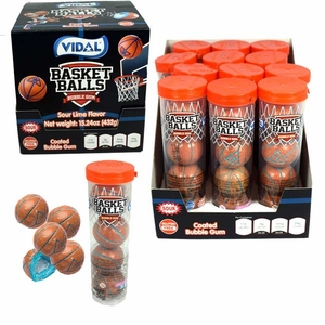Basketball Gumballs 12 Pack
