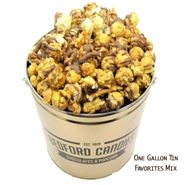Bedford Candies Popcorn Tin Favorites Mix 1 Gallon