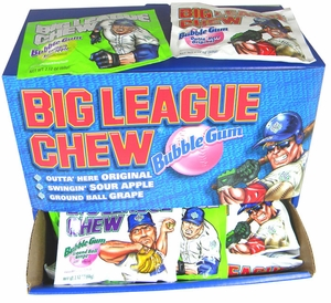 Big League Chew Assorted Display Pack 48ct