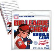 Big League Chew GIRL Original 12 Count
