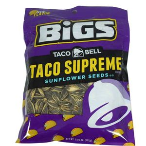 Bigs Taco Bell Supreme Sunflower Seeds 5.35oz