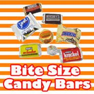 Bite Size Candy Bars For Candy Buffets
