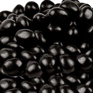 Black Jelly Beans Jumbo 30lb Box