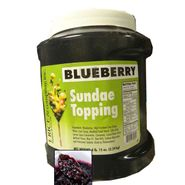 Blueberry Sundae Topping 4.15lb Jar