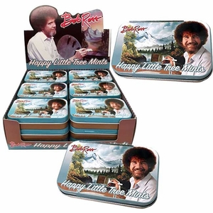Bob Ross Happy Tree Mints 18 Count
