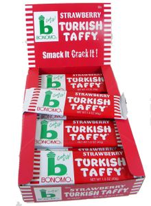 Bonomo Turkish Taffy Strawberry 24ct