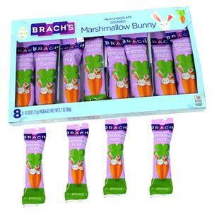 Brach's Chocolate Marshmallow Bunnies 8 Count