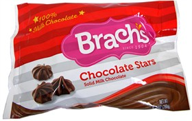 Brachs Chocolate Stars Holiday Fudge Cake