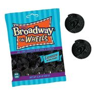 Broadway Licorice Wheels Black 5.29oz