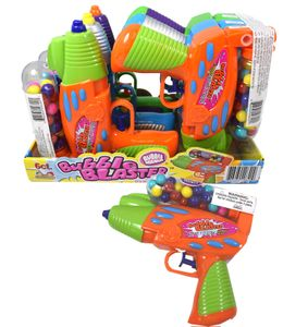 Bubble Blaster Squirt Toy & Bubble Gum 6 Count