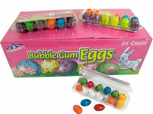 Bubble Gum Mini Eggs 24 Count