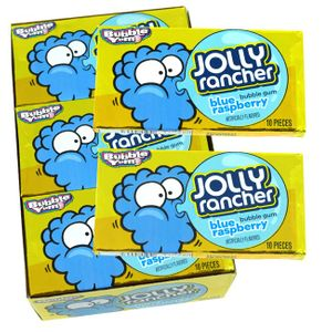 Bubble Yum Jolly Rancher Blue Raspberry 12 Count