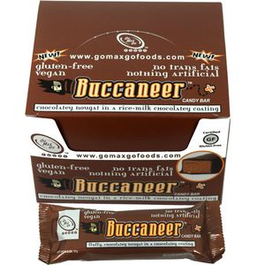 Buccaneer Vegan Candy Bars 12 Count