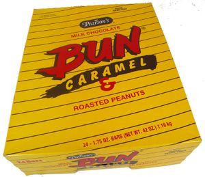 Bun Candy Bar 24ct Caramel