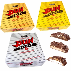 Bun Candy Bar 24ct Choose Flavor