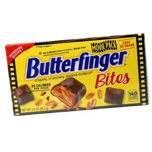 Butter Finger Bites 3.5oz Theater Box