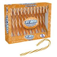 Butter Rum Life Saver Candy Canes 12 Count