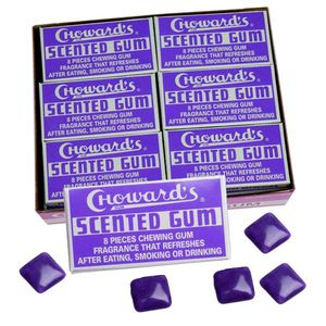 C Howard's Violet Scented Gum 24 Count