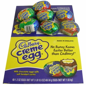 Cadbury Creme Eggs 48ct Easter Candy