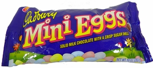 Cadbury Mini Eggs Milk Chocolate Crisp Shell 10oz Bag