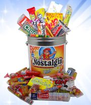 Can of Nostalgic Candy  60 Pieces!