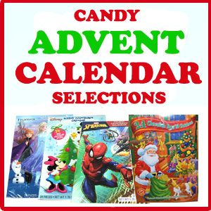 Candy Advent Calendar Selections