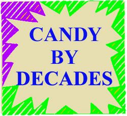 Candy By Decade