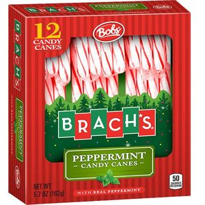 Candy Canes 12ct - 1/2oz Original Bob's Candy Canes