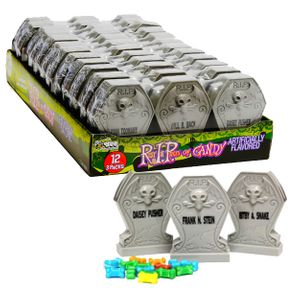 Candy Filled Tombstones 12 -3pks