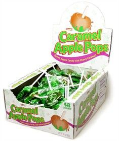 Caramel Apple Lollipops, Pumpkin Seeds, and Apple Cider � The Start To A Perfect Autumn Party!