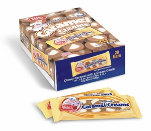 Caramel Creams Candy Bar 20ct