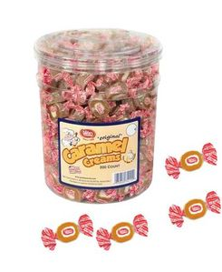 Caramel Creams Original 200 Count Jar