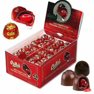 Cella's Milk or Dark Chocolate Covered Cherries 72ct