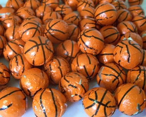 Chocolate Basketballs 2lbs Made In The USA