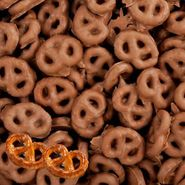 Chocolate Covered Pretzels Micro Mini 17lb Bulk