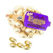 Chocolate Eggs Gold Foil Wrapped 4oz Bag