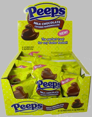 Chocolate Peeps Are The Answer To A Chocopeepaholic's Prayers!