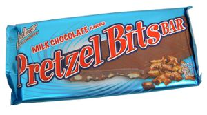 Chocolate Pretzel Bits Candy Bar 4.25oz