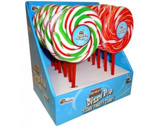 Christmas Dizzy Swirl Lollipops 12 Count