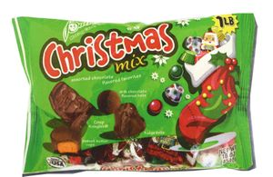 Christmas  Mix Chocolates 16oz Bag